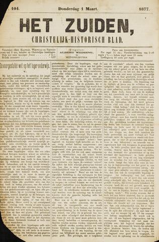 Het Zuiden, Christelijk-historisch blad 1877-03-01
