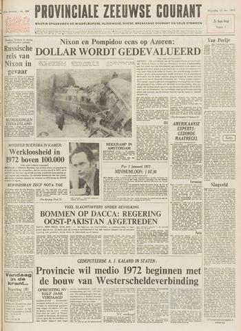 Provinciale Zeeuwse Courant 1971-12-15