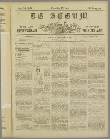 De Zeeuw. Christelijk-historisch nieuwsblad voor Zeeland 1901-06-15