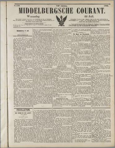Middelburgsche Courant 1903-07-22