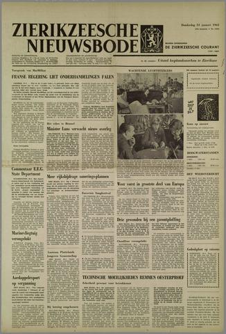 Zierikzeesche Nieuwsbode 1963-01-31