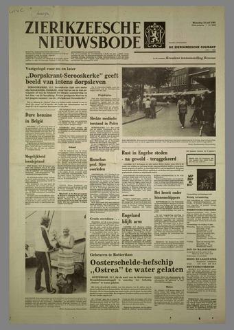 Zierikzeesche Nieuwsbode 1981-07-13