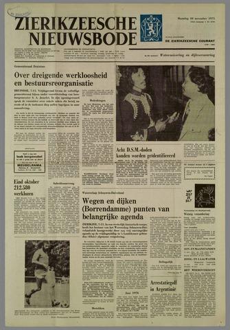 Zierikzeesche Nieuwsbode 1975-11-10