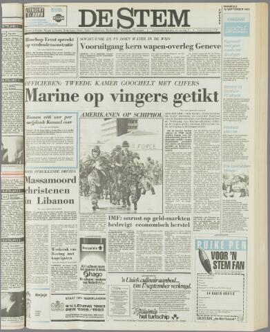 de Stem 1983-09-12