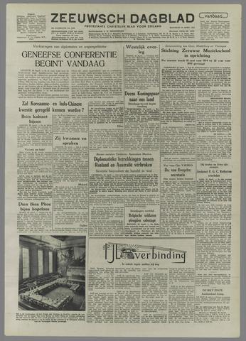 Zeeuwsch Dagblad 1954-04-26