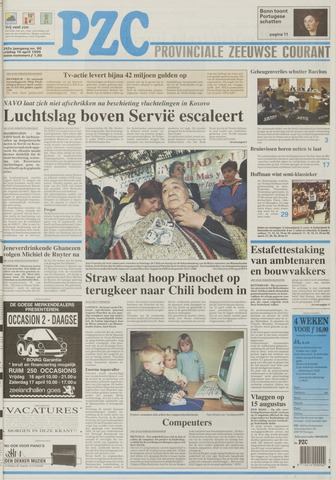 Provinciale Zeeuwse Courant 1999-04-16