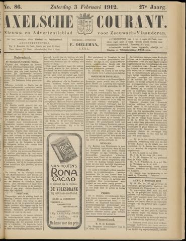 Axelsche Courant 1912-02-03