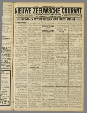 Nieuwe Zeeuwsche Courant 1929-10-24