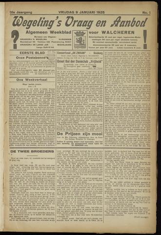 Zeeuwsch Nieuwsblad/Wegeling's Nieuwsblad 1925