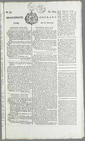 Zierikzeesche Courant 1824-11-26