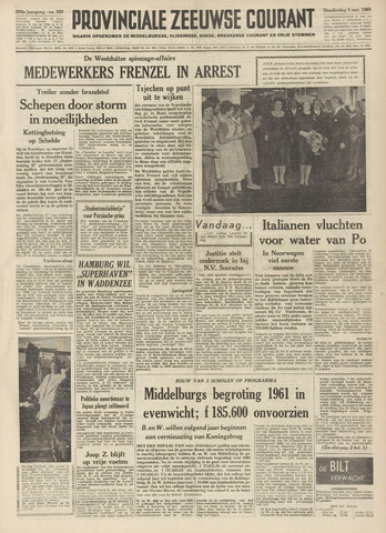 Provinciale Zeeuwse Courant 1960-11-03