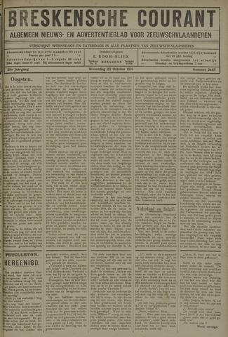 Breskensche Courant 1919-10-22