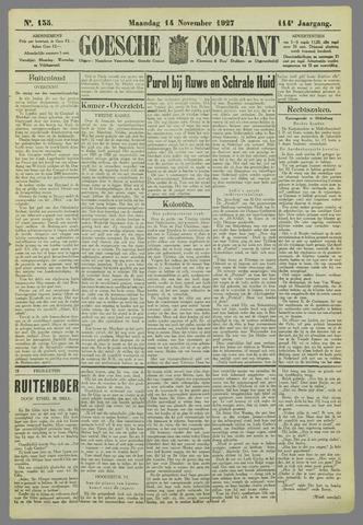Goessche Courant 1927-11-14