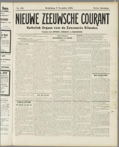 Nieuwe Zeeuwsche Courant 1905-11-09