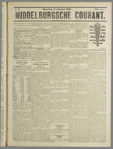 Middelburgsche Courant 1925-01-17