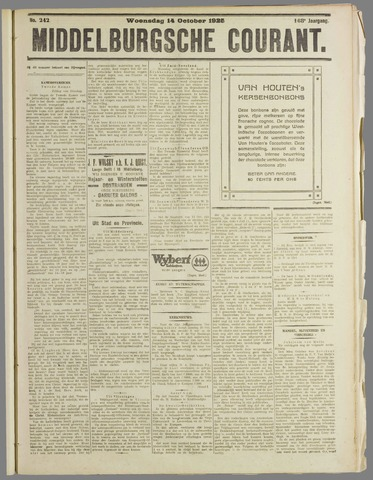 Middelburgsche Courant 1925-10-14