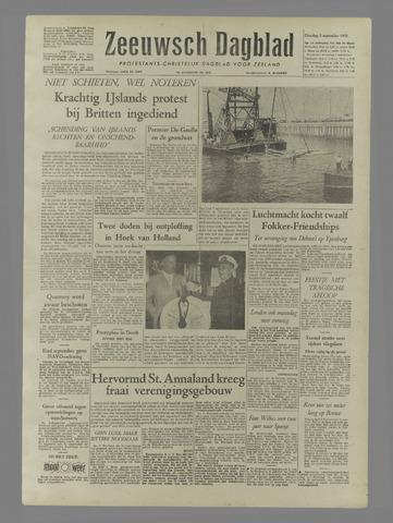 Zeeuwsch Dagblad 1958-09-02