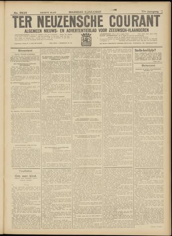 Ter Neuzensche Courant. Algemeen Nieuws- en Advertentieblad voor Zeeuwsch-Vlaanderen / Neuzensche Courant ... (idem) / (Algemeen) nieuws en advertentieblad voor Zeeuwsch-Vlaanderen 1937-07-05