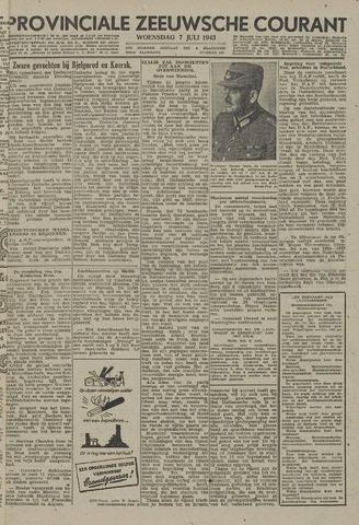Provinciale Zeeuwse Courant 1943-07-07