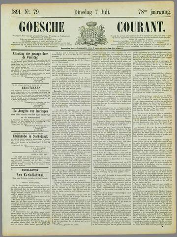 Goessche Courant 1891-07-07