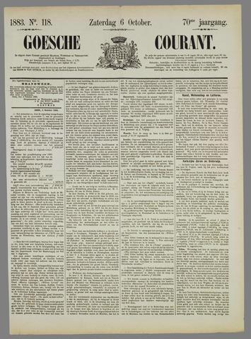 Goessche Courant 1883-10-06