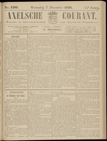 Axelsche Courant 1898-12-07