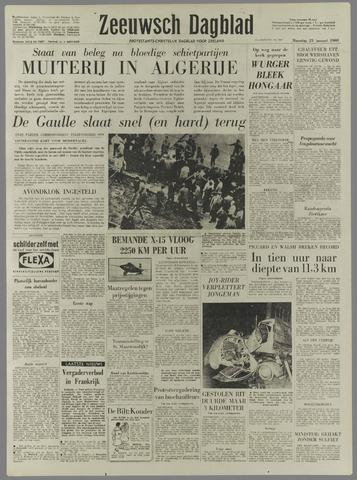 Zeeuwsch Dagblad 1960-01-25