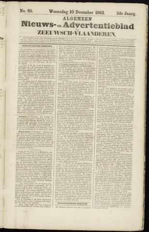 Ter Neuzensche Courant. Algemeen Nieuws- en Advertentieblad voor Zeeuwsch-Vlaanderen / Neuzensche Courant ... (idem) / (Algemeen) nieuws en advertentieblad voor Zeeuwsch-Vlaanderen 1862-12-10