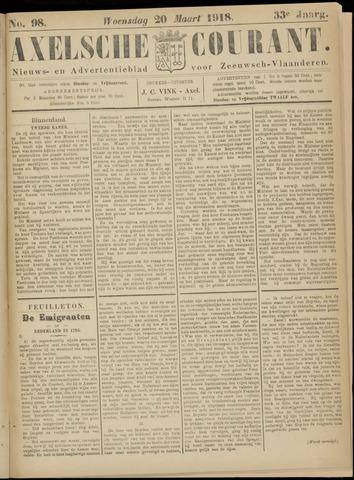 Axelsche Courant 1918-03-20