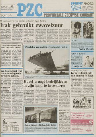 Provinciale Zeeuwse Courant 1991-03-22