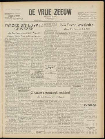 de Vrije Zeeuw 1952-07-28