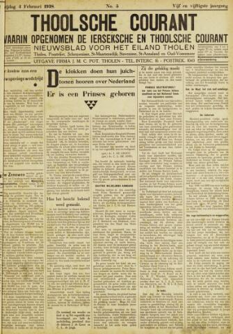 Ierseksche en Thoolsche Courant 1938-02-04