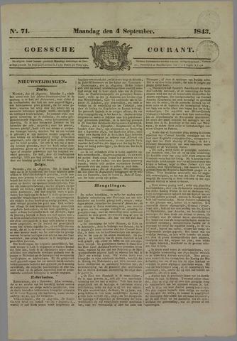 Goessche Courant 1843-09-04