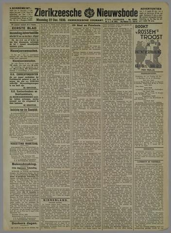 Zierikzeesche Nieuwsbode 1930-12-22