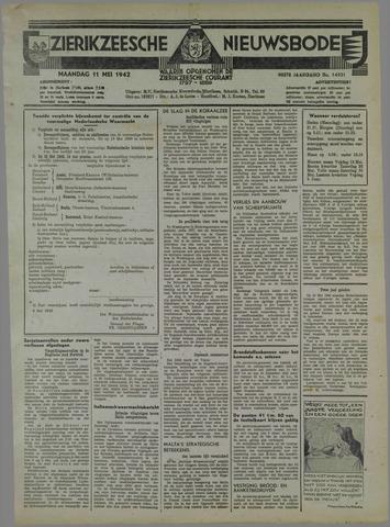 Zierikzeesche Nieuwsbode 1942-05-11