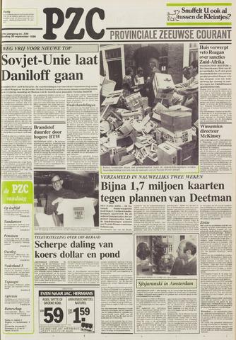 Provinciale Zeeuwse Courant 1986-09-30