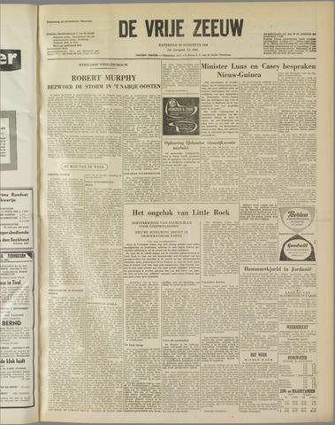 de Vrije Zeeuw 1958-08-30