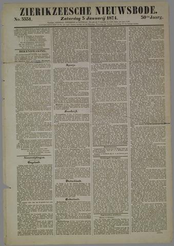 Zierikzeesche Nieuwsbode 1874-01-03
