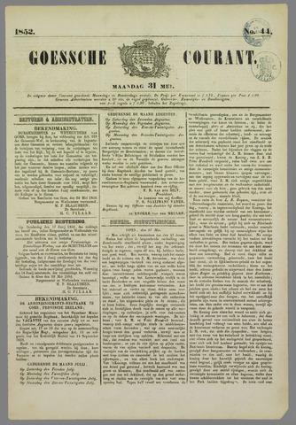 Goessche Courant 1852-05-31