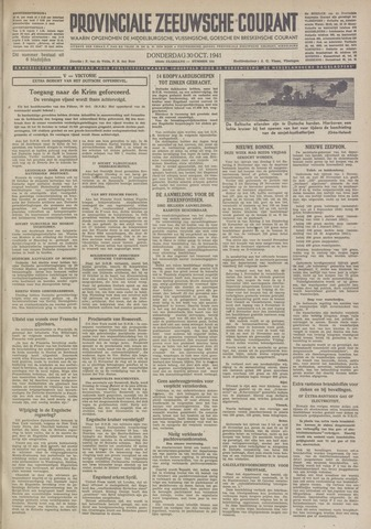 Provinciale Zeeuwse Courant 1941-10-30