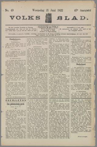 Volksblad 1922-06-21