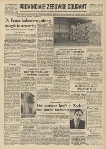 Provinciale Zeeuwse Courant 1954-04-14
