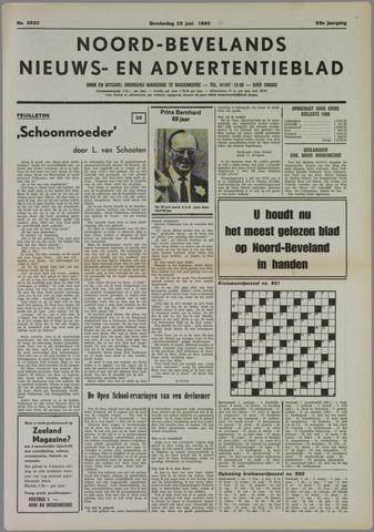 Noord-Bevelands Nieuws- en advertentieblad 1980-06-26