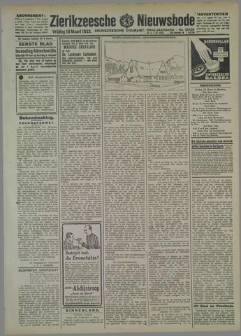 Zierikzeesche Nieuwsbode 1933-03-10