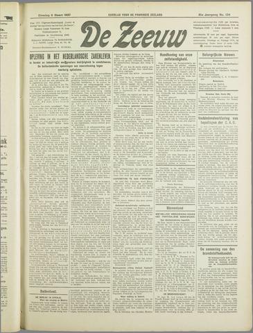 De Zeeuw. Christelijk-historisch nieuwsblad voor Zeeland 1937-03-09