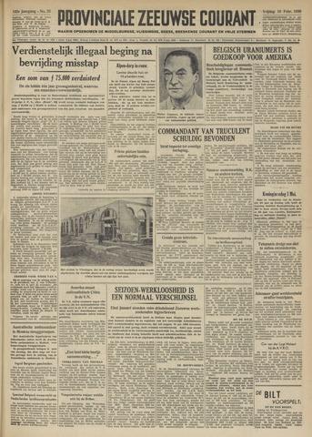 Provinciale Zeeuwse Courant 1950-02-10