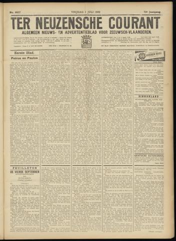 Ter Neuzensche Courant. Algemeen Nieuws- en Advertentieblad voor Zeeuwsch-Vlaanderen / Neuzensche Courant ... (idem) / (Algemeen) nieuws en advertentieblad voor Zeeuwsch-Vlaanderen 1932-07-01