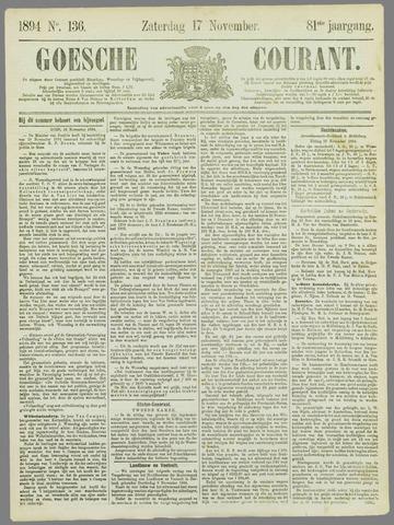 Goessche Courant 1894-11-17