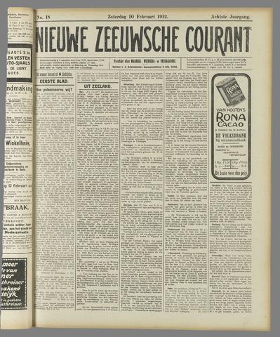 Nieuwe Zeeuwsche Courant 1912-02-10