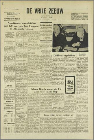 de Vrije Zeeuw 1963-04-12